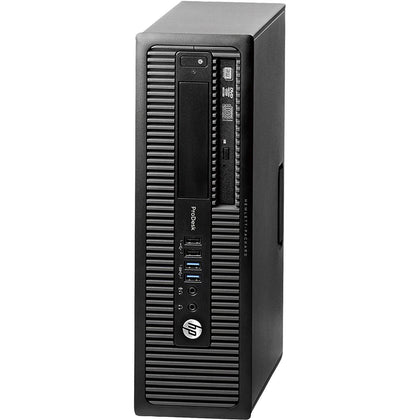 HP Prodesk 600 G1 SFF Desktop Intel Core i3 3.4GHz Windows 10 Pro Refurbished-Atmark Trading