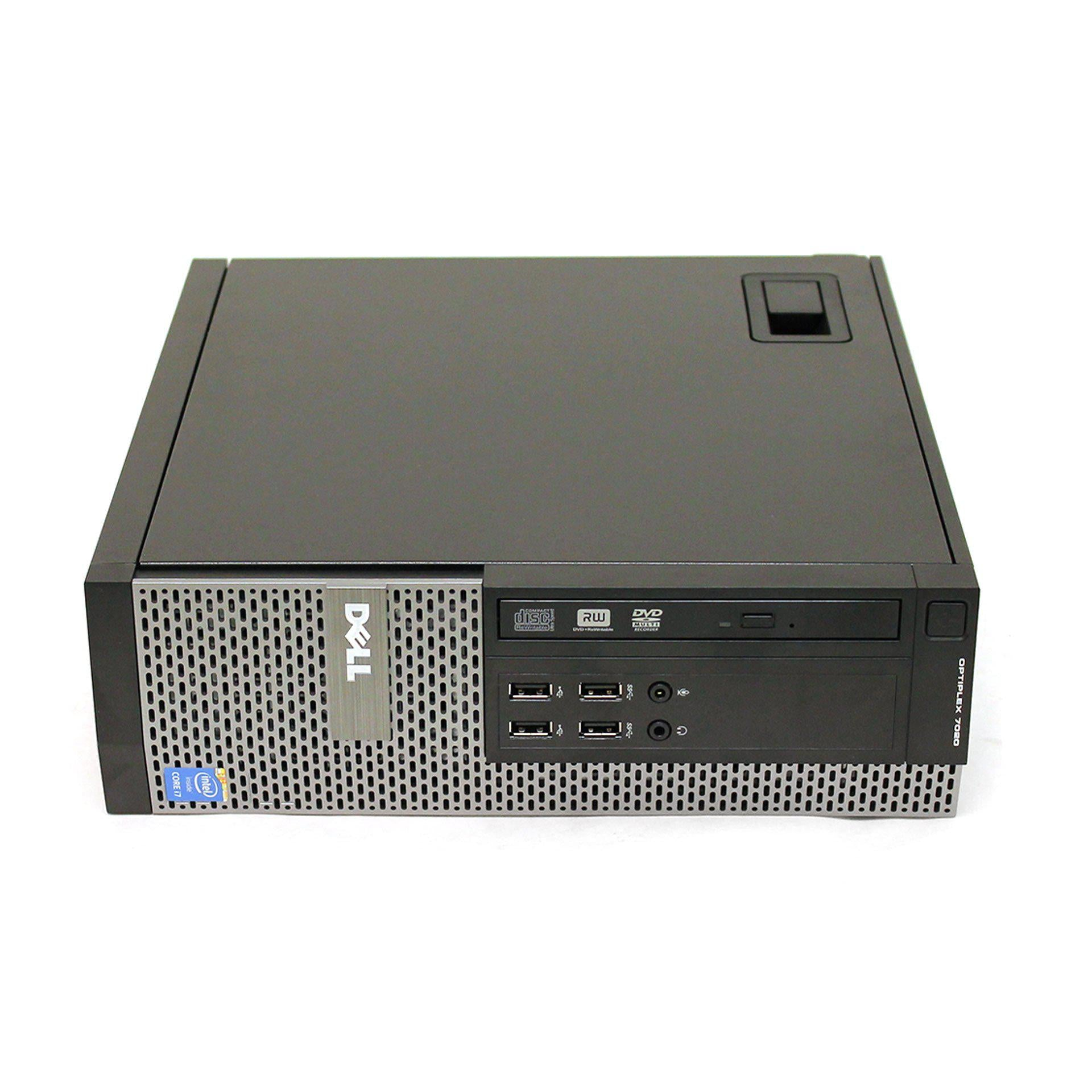 Dell Optiplex 7020 Desktop Intel Quad Core i7 3.4Ghz Windows 10 Pro Refurbished