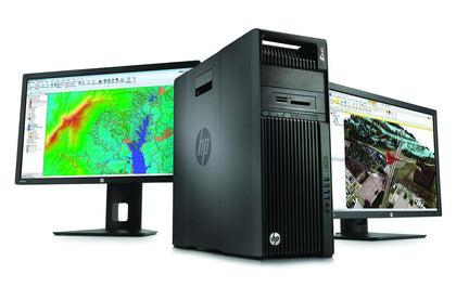 HP Z640 Workstation Xeon E5-2620 V3 6 Cores-Desktop-HP-16GB-256GB SSD-None-Atmark Trading