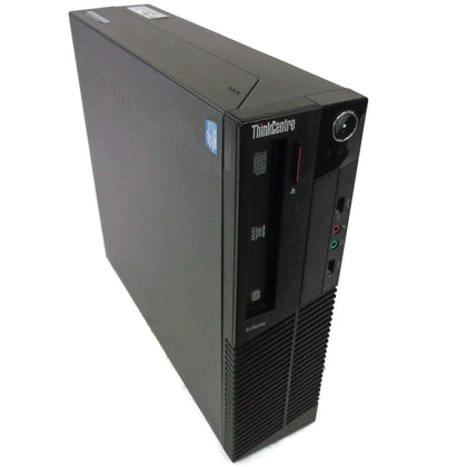 Lenovo M92p SFF Desktop Intel Quad Core i5 3.2Ghz 8GB 500GB Windows 10 Refurbished-Atmark Trading