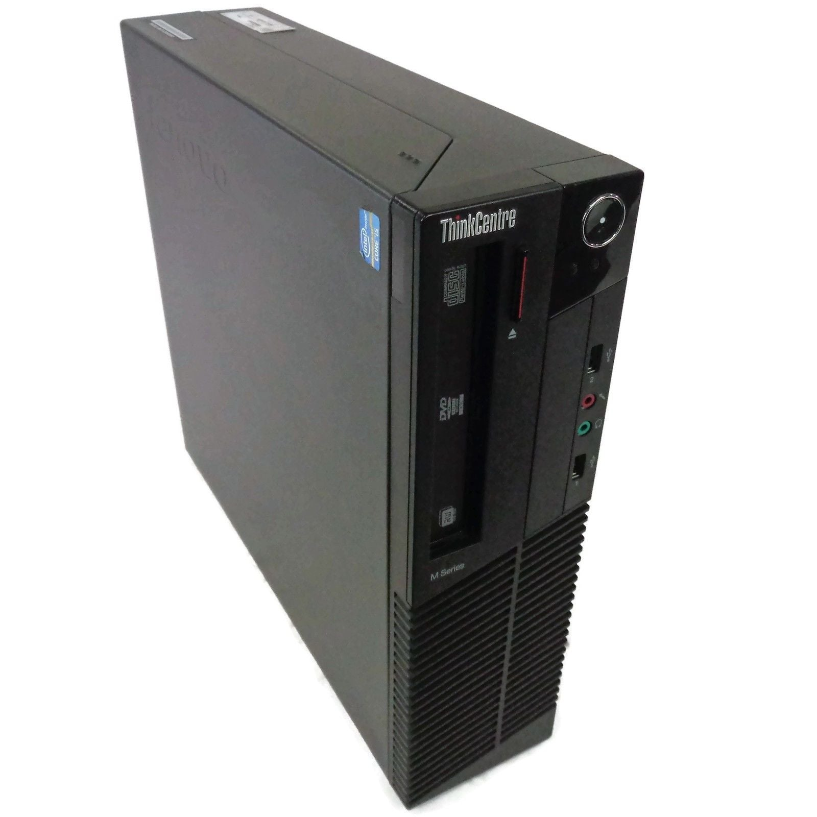 Lenovo M92p SFF Desktop, Intel Quad Core i5-3470 3.2Ghz, 4GB 500GB, Windows 10 Pro, Refurbished-Atmark Trading