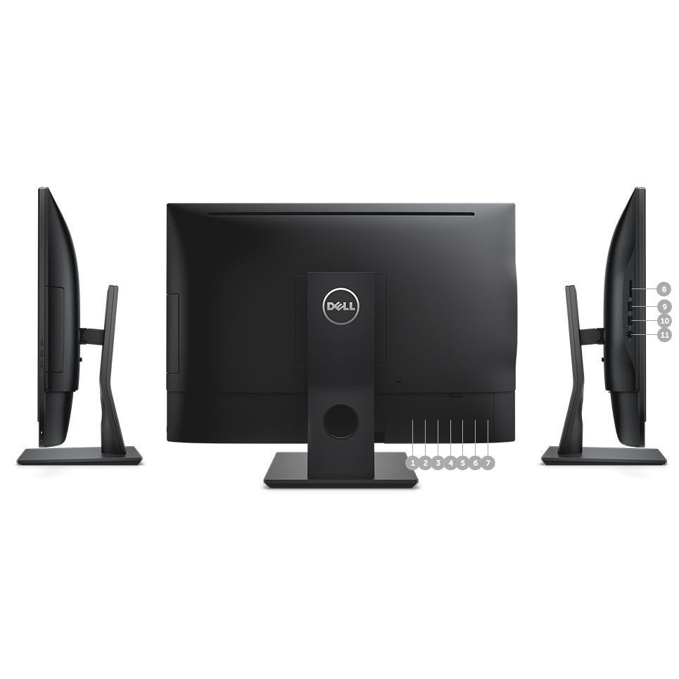 "Dell Optiplex 7440  24"" All in One Desktop, Intel Quad Core i5 3.2Ghz Windows 10 Pro  Refurbished"