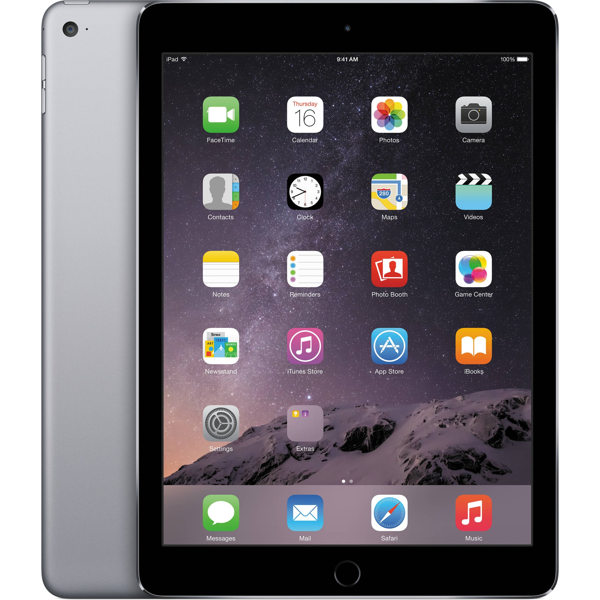 Apple iPad Air 2 64GB Wifi Space Grey Refurbished C Grade