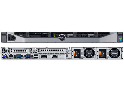 Dell Poweredge R630 1u Rack Mount Server, 2 x E5-2630 V3 2.4GHz, 128GB 4 x 600GB SSD, Refurbished-Atmark Trading