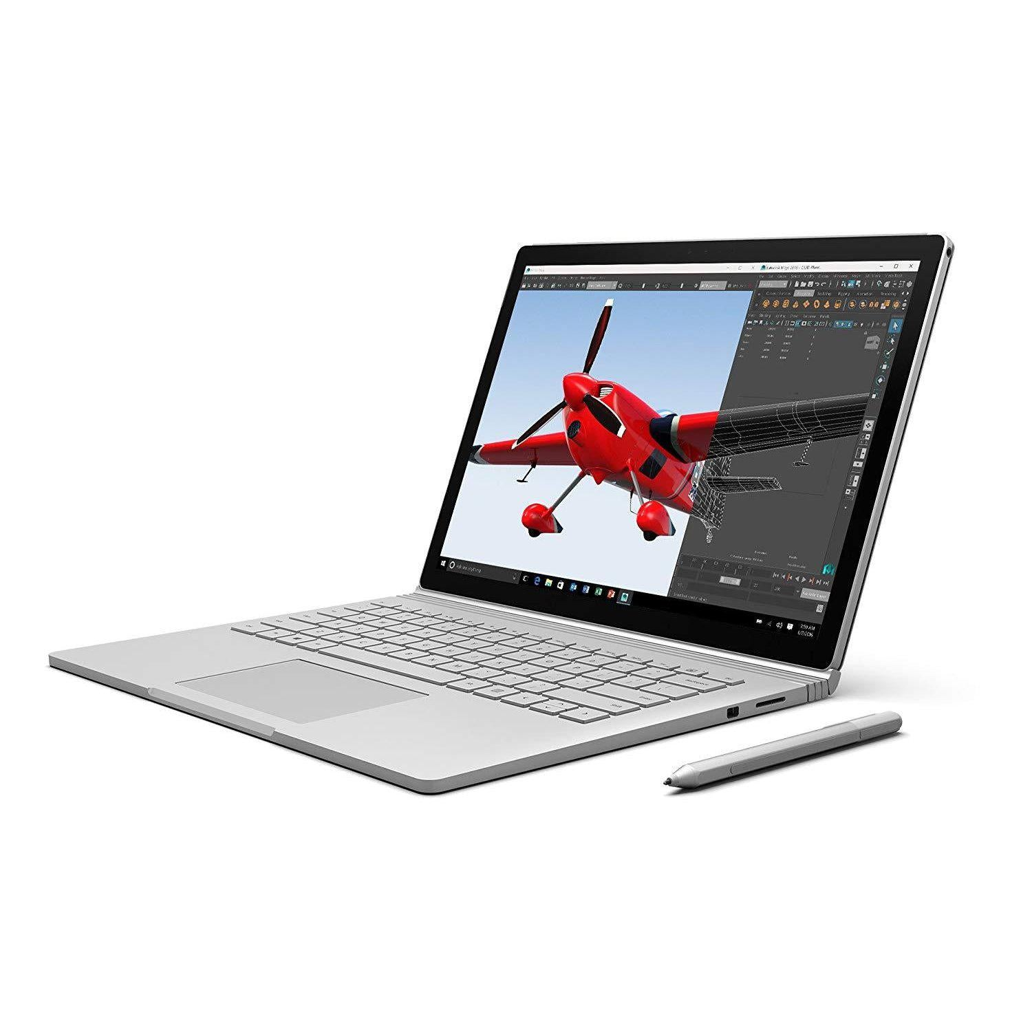 "Microsoft Surface Book Intel 6th Gen Core I5 8GB 256GB 13.5"" 2 in 1 Laptop"
