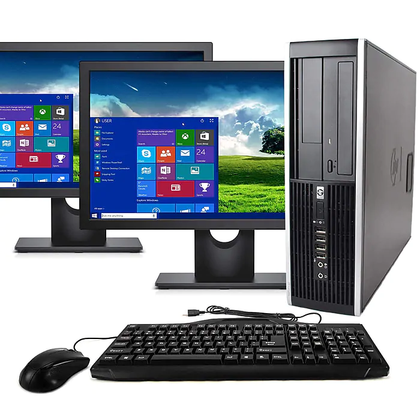 HP Elite 8300 Bundle Intel Quad Core i5-3470 3.2Ghz with Dual 20