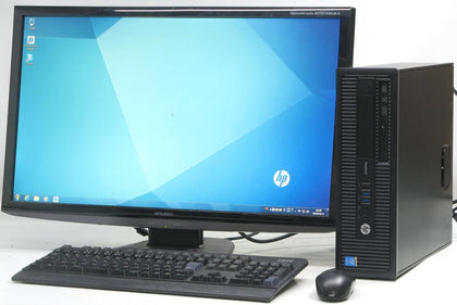 HP Prodesk 600 G1 Desktop Bundle Intel Quad Core i7 3.4 Ghz with 24