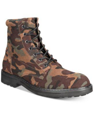 INC Men's Wilder Camo Boots