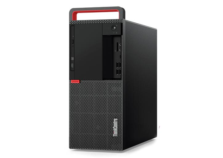 "Lenovo M920t Tower Desktop Bundle Core i5 3.0Ghz with 24"" Monitor Windows 10 Pro Factory Refurbished"