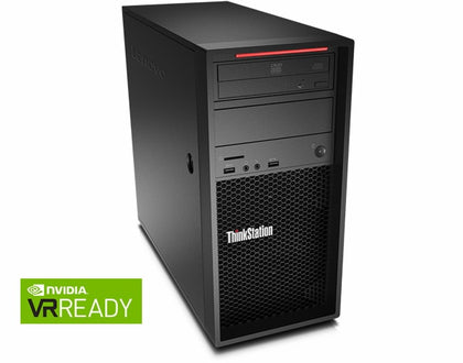 Lenvo ThinkStation P520c 4 Core Xeon W-2123 3.6GHz 16GB 1TB Windows 10 Pro Factory Refurbished-Atmark Trading