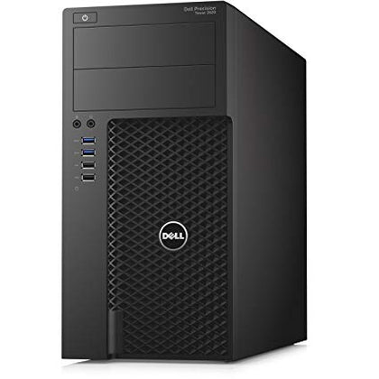 Dell Precision 3620 Tower, 4 Core Xeon E3-1270 V5 3.6GHz, 16GB 256GB SSD, Nvidia Quadro K620 2GB, Windows 10 Pro, Refurbished