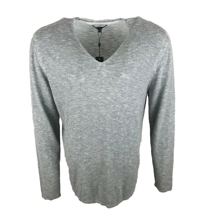 John Varvatos Men's V-Neck 100% Cotton Sweater-Atmark Trading