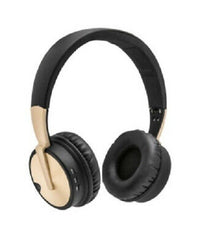 Polaroid Bluetooth Premium Wireless Headphones, PBT835, Gold-Atmark Trading