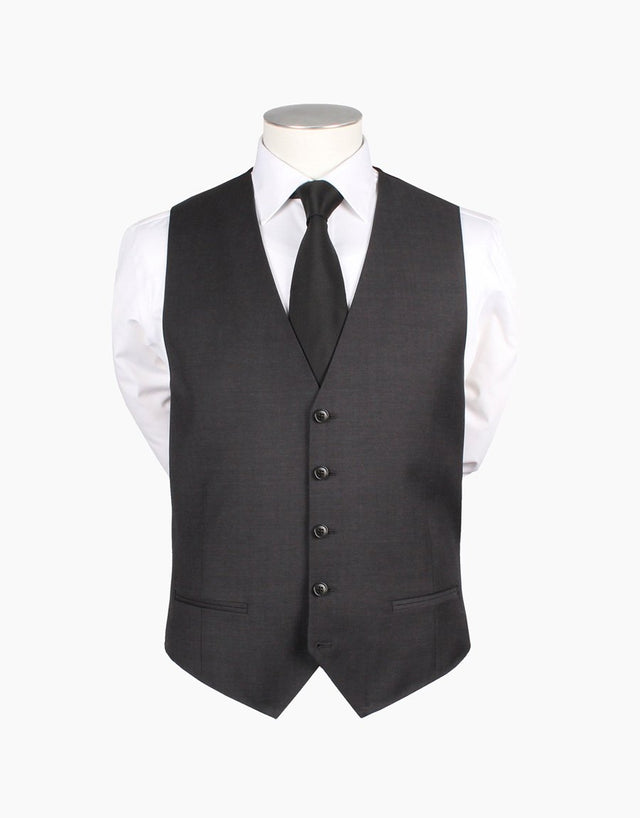 Curtis Charcoal Waistcoat