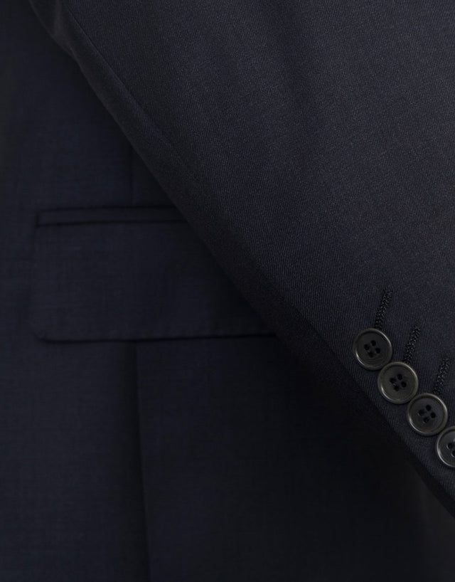 Proto Charcoal Twill Suit