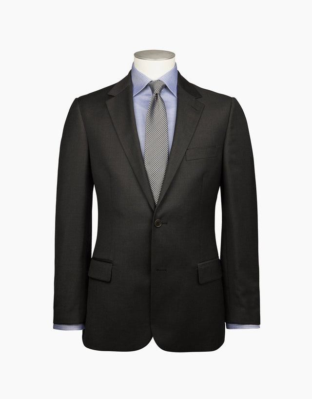 Cumbria Charcoal Twill Suit Jacket