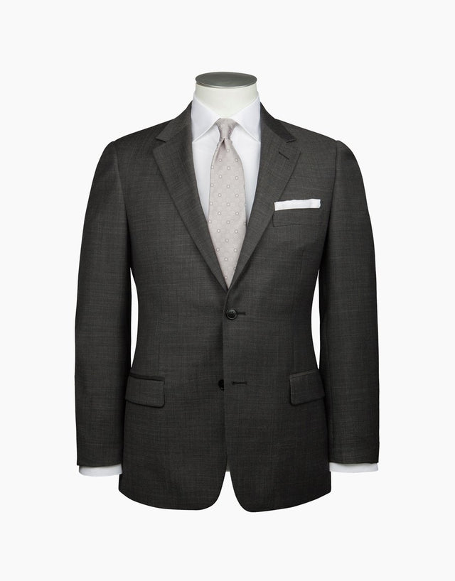 Cumbria Charcoal Pin Dot Suit
