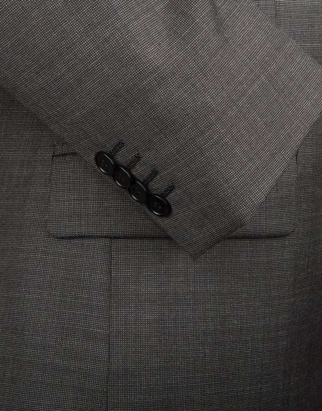 Cumbria Charcoal Pin Dot Suit Jacket