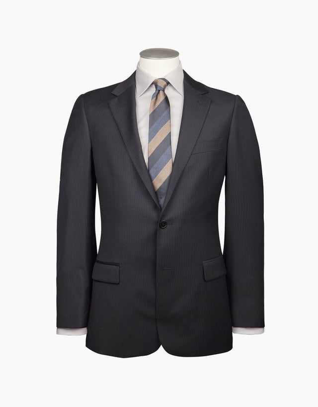 Cumbria Navy Stripe Suit Jacket