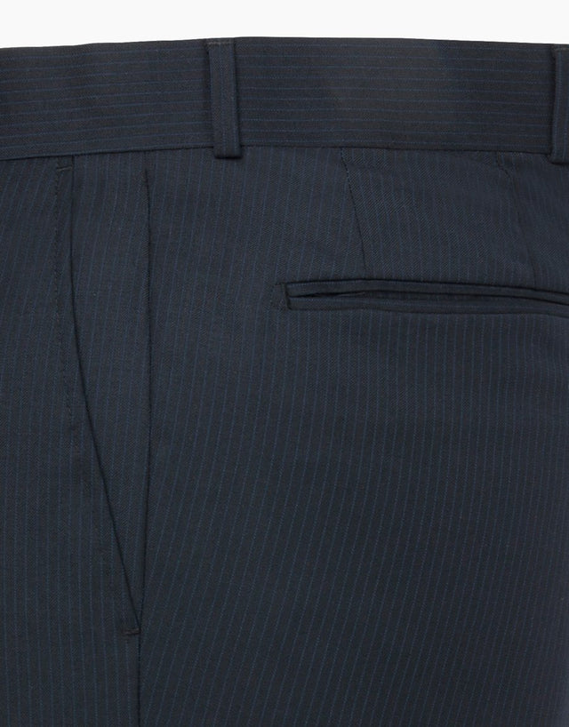 Hollywood Navy Stripe Suit Trouser