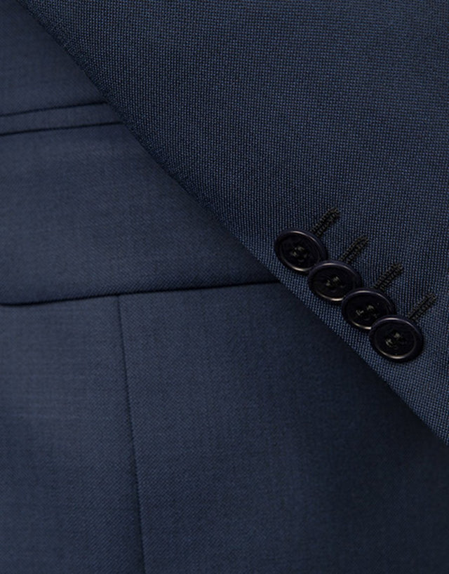 Cooper Blue Nailhead Suit Jacket