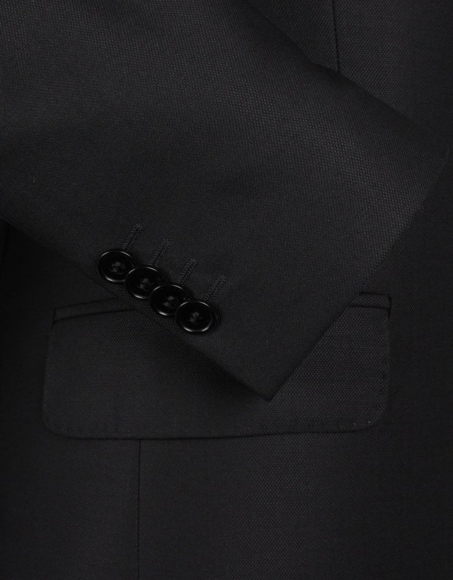 Cooper Black Micro-design Suit