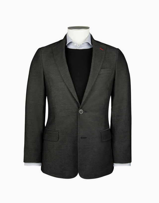Hawker charcoal twill blazer