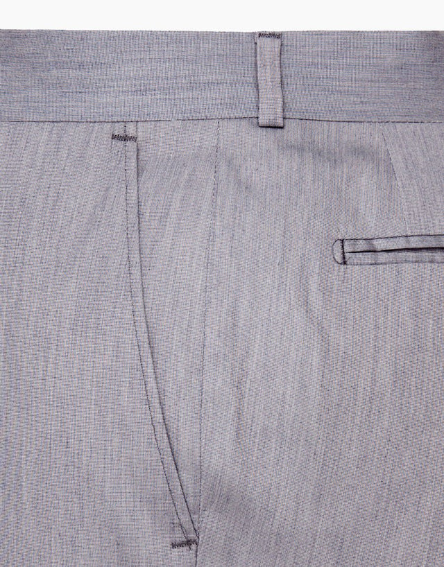 Punk Light Blue Suit Trouser