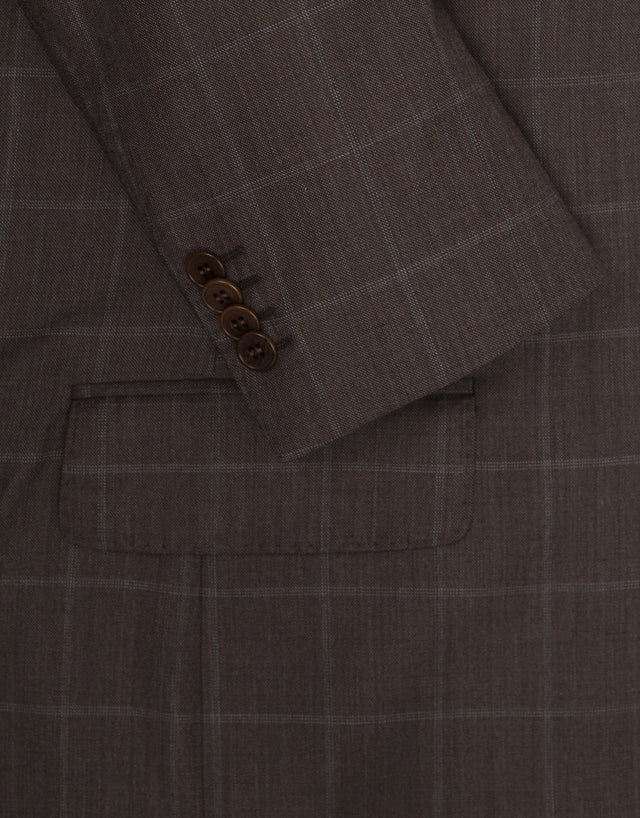 Gresham Chocolate Check Suit