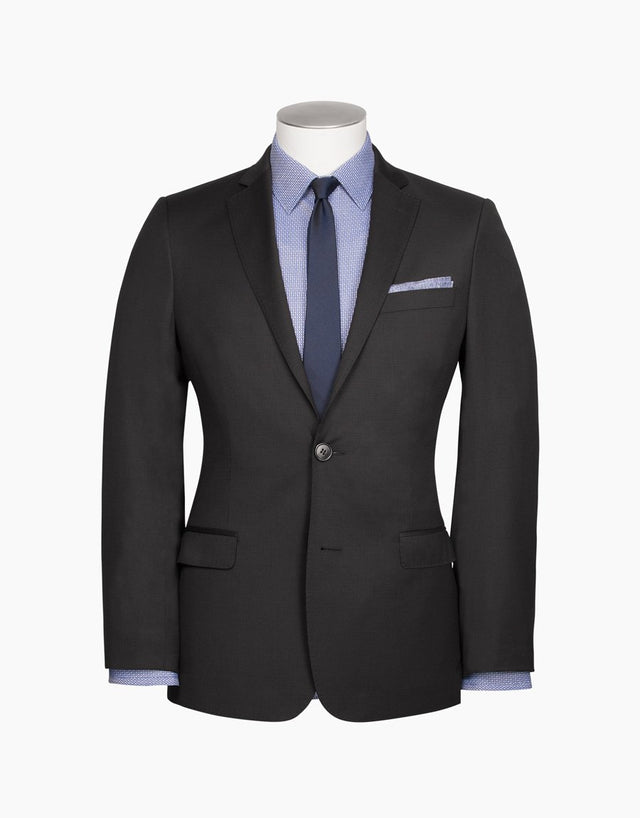 Cumbria Charcoal Microcheck Suit Jacket