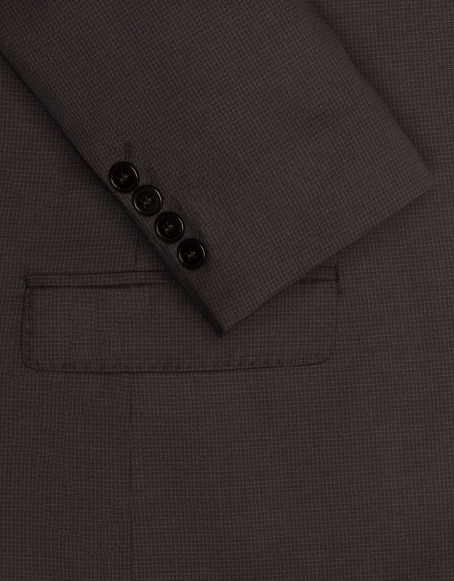 Cumbria Charcoal Micro-check Suit