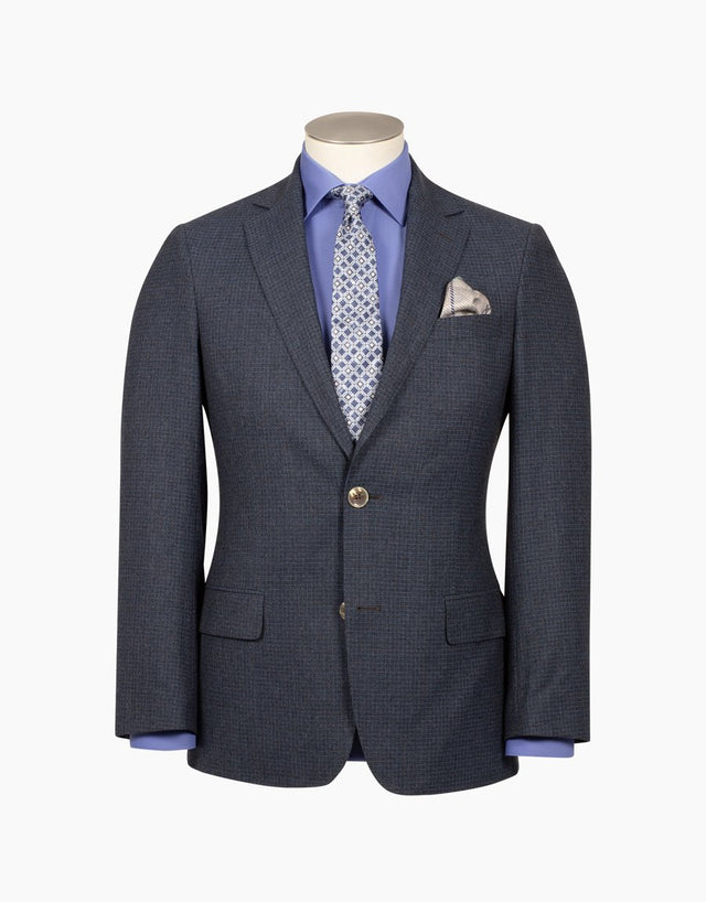 Blake blue check jacket