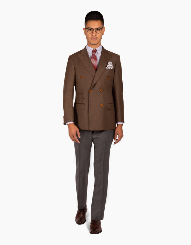 Henry brown suit