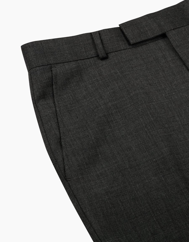 Hawke charcoal two trouser suit