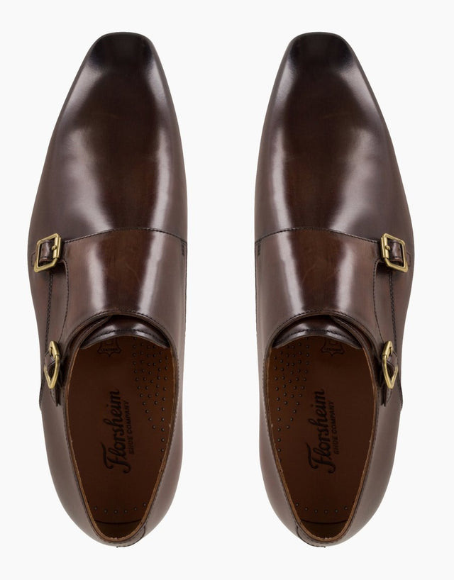 Florsheim Flicker Teak Double Monk Strap