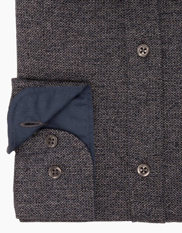 Knight Navy Speckled Shirt