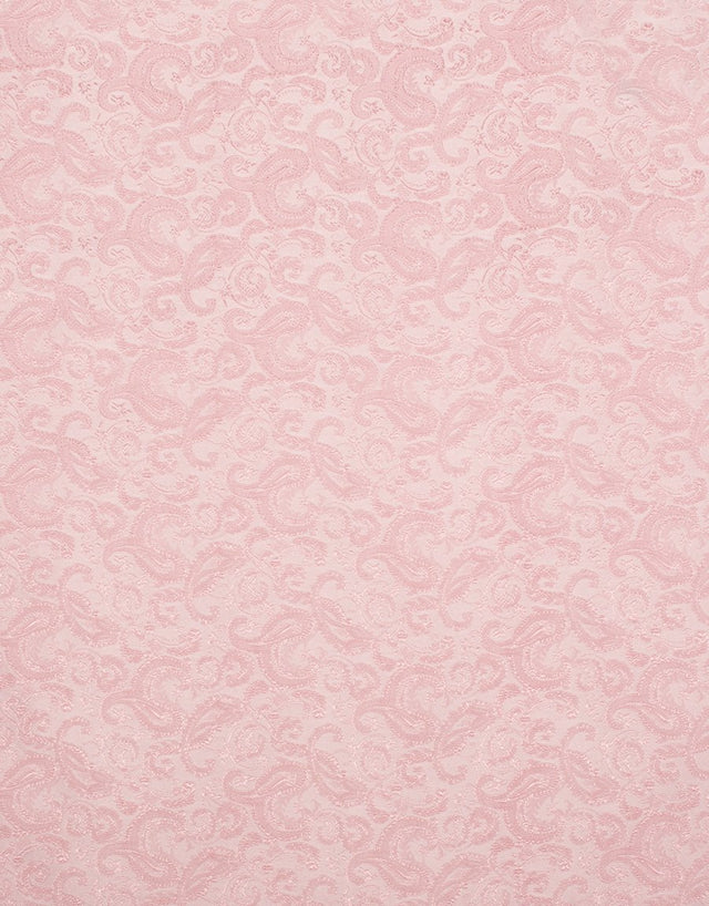 Pink floral silk pocket square