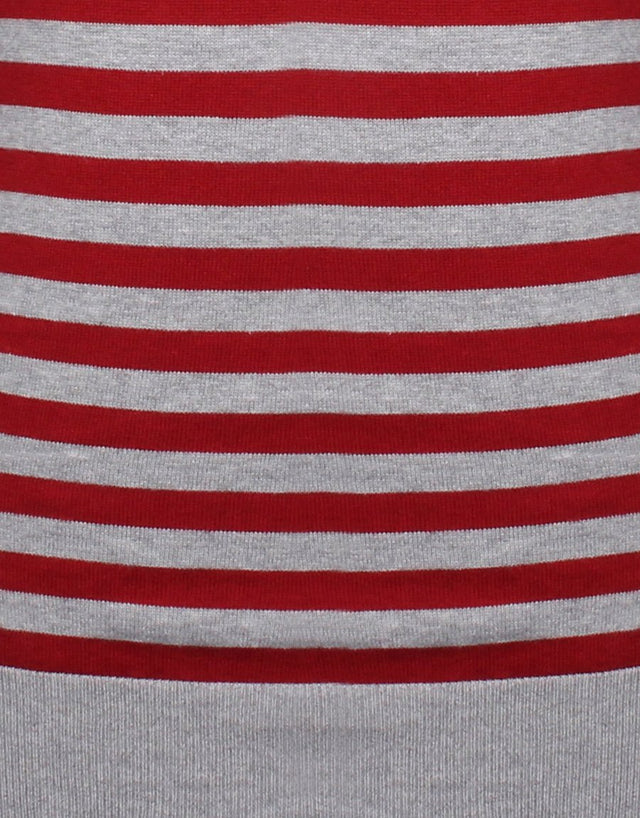 Seddon Red & Grey Stripe Jersey