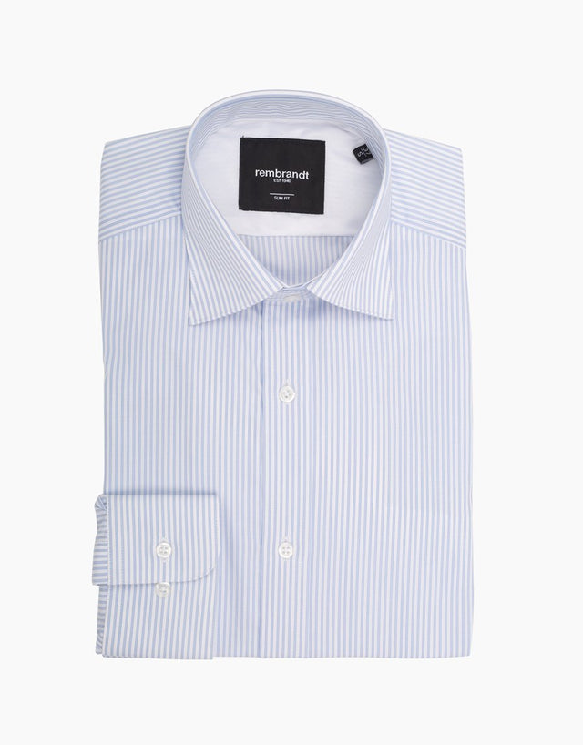 London Light Blue Stripe Shirt