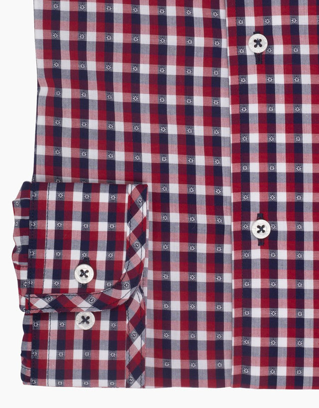 Kelburn Red Check Shirt