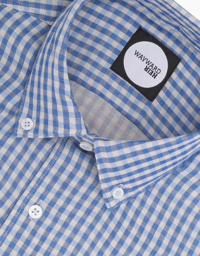 Kelburn Blue Check Shirt