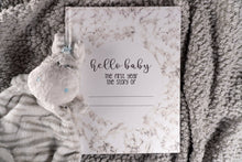 Load image into Gallery viewer, Hard Cover Modern Baby Book First Year Baby Memory Journal