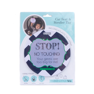 Stop No Touching Boy Tag