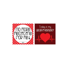 Load image into Gallery viewer, CHD Heart Warrior Plastic Milestone Cards