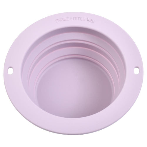 Lilac Collapsible Bowl for Travel or Home
