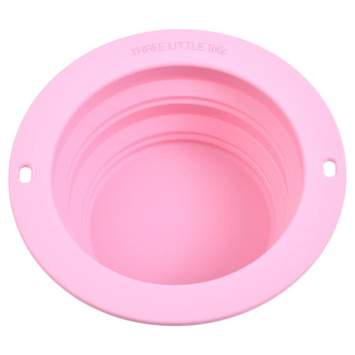 Rose Collapsible Bowl for Travel or Home