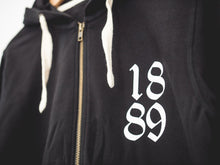 Load image into Gallery viewer, 1889 Zip Hoodie
