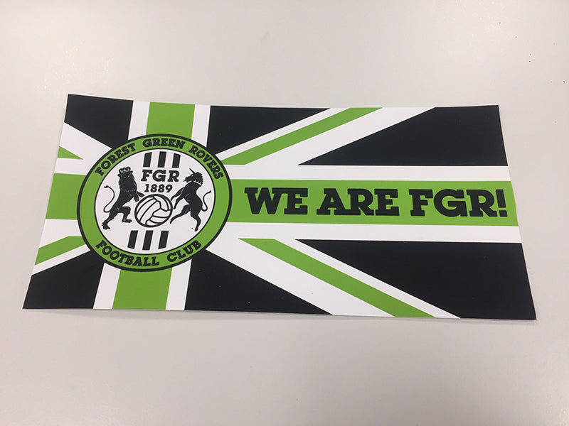FGR car sticker