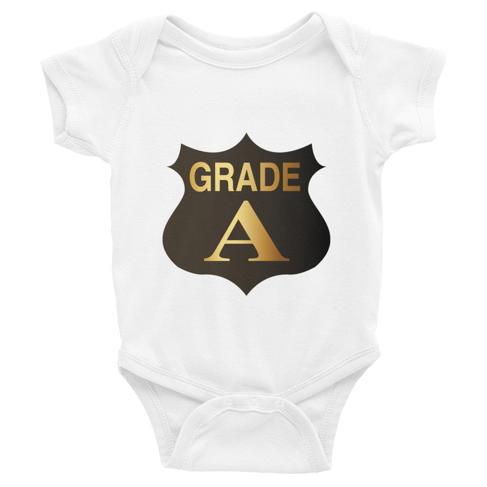 Grade A - Our Infant Onesie Bodysuit makes the perfect baby gift!