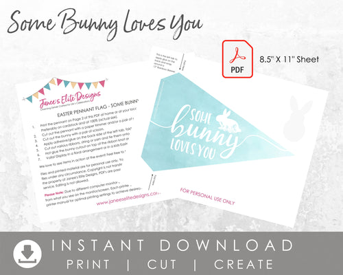 Some Bunny Loves You Easter Printable